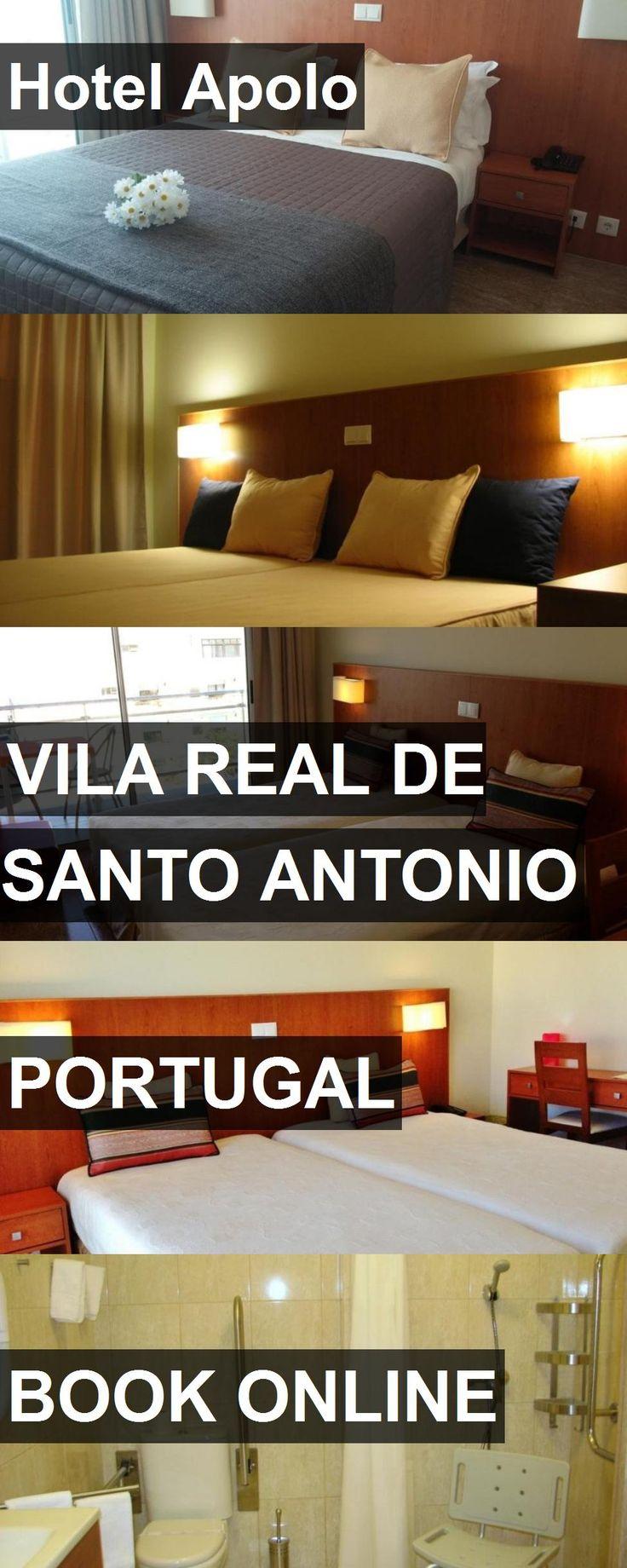 Hotel Apolo in Vila Real de Santo Antonio, Portugal. For more information, photos, reviews and best prices please follow the link. #Portugal #VilaRealdeSantoAntonio #travel #vacation #hotel