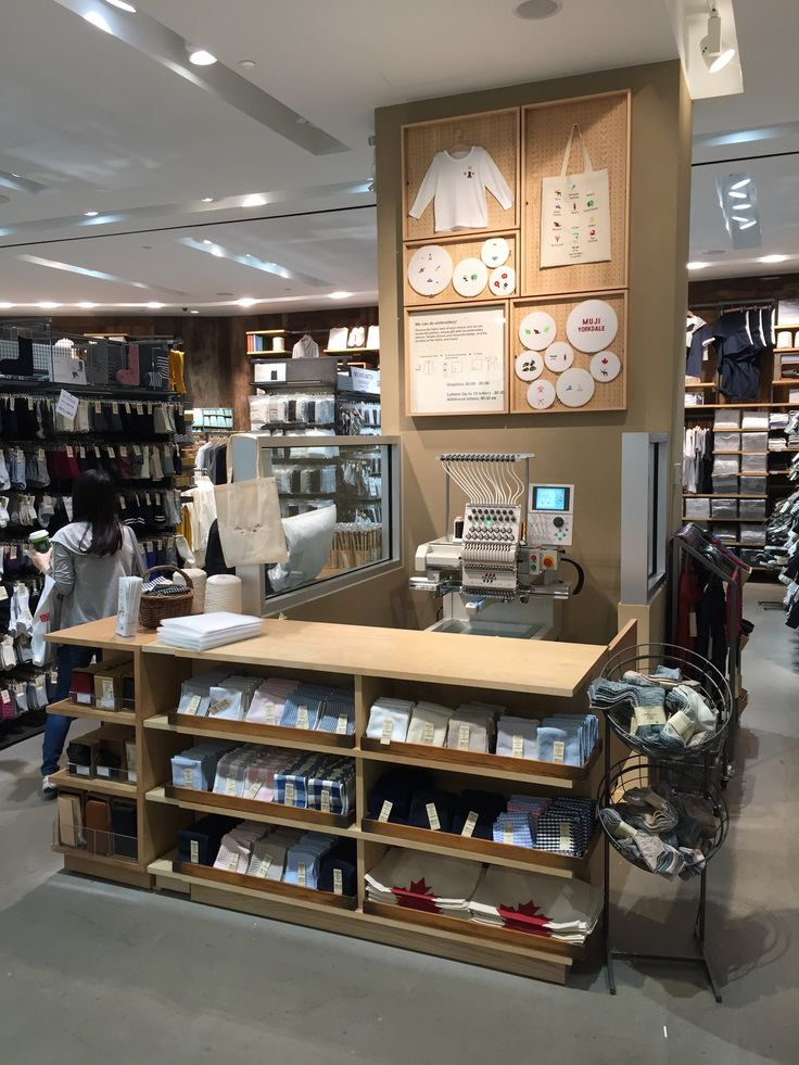 Muji, Yorkdale Shopping Centre_Toronto - Fully personalized merchandise by Muji - a new store at Yorkdale Shopping Centre.