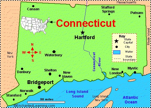 My cousin used to live somewhere along the Connecticut River.  I remember seeing a conch shell in the water and wanting it badly but it was out of reach - too deep and I didn't have my swim suit with me.