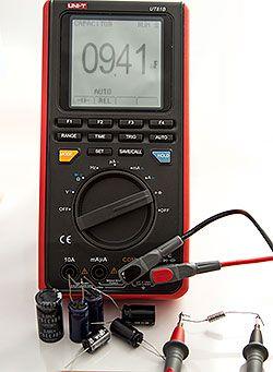 Convertisseur d'unité   Note: La mesure de la capacité du condensateur  testeur résultat en (nf) et les capacitor indiqué souvent en uf voir (pF)