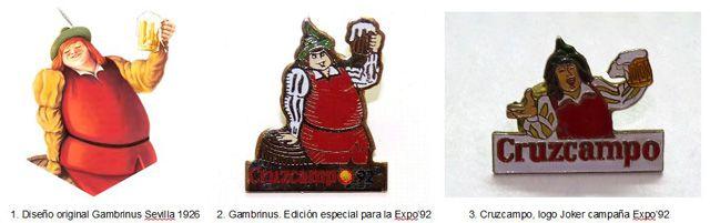 COLABORADORES: Nuestras cervezas por Pedro Miguel Ortega CRUZCAMPO marca insignia en la Expo'92 http://revcyl.com/web/index.php/colaboradores/item/10269-cruzcampo-marca-ins