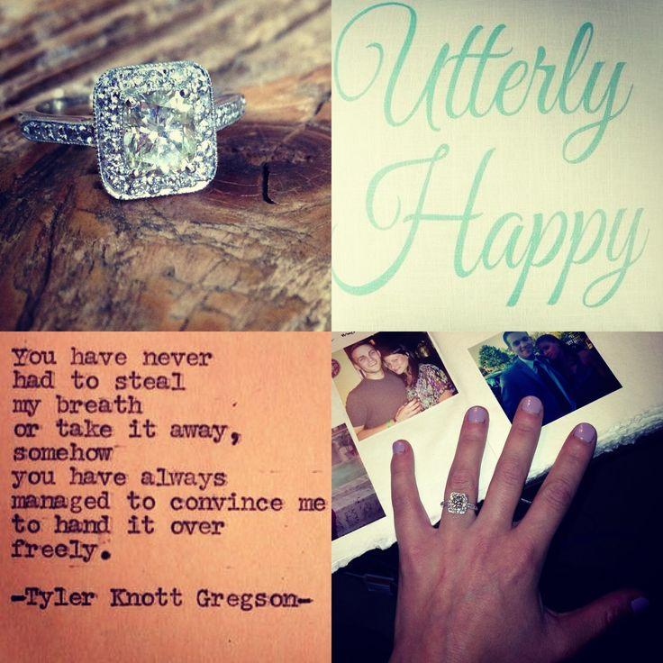 Engagement Ring & Quotes