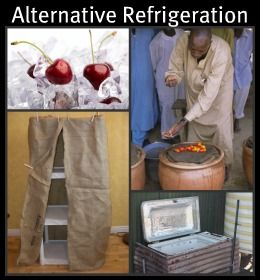 Alternative Refrigeration - We sort of used some of these ideas in Sudan...