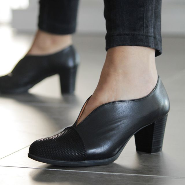 Zapatos para mujer en color negro. Características - fbb87991bd5c