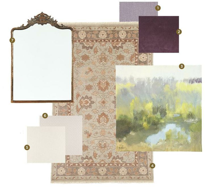 Inspired Color Palettes for Winter | Purple palette, Room