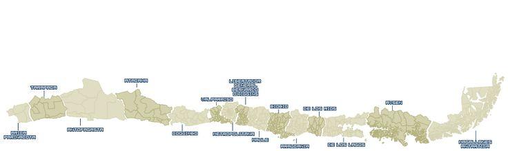 16.12.13: Elecciones presidenciales: Desde Arica hasta Magallanes. ¿Quién ganó en cada comuna del país?  | Política | LA TERCERA