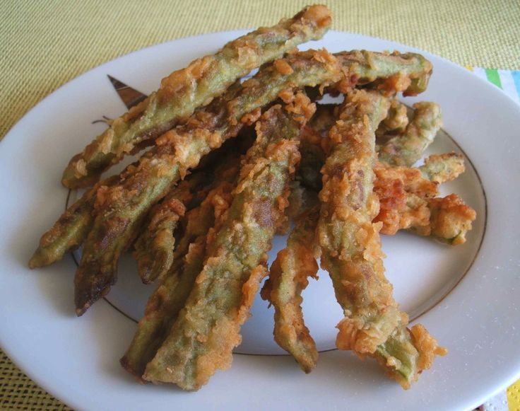 Peixinhos da horta (fried green bean) - Food From Portugal