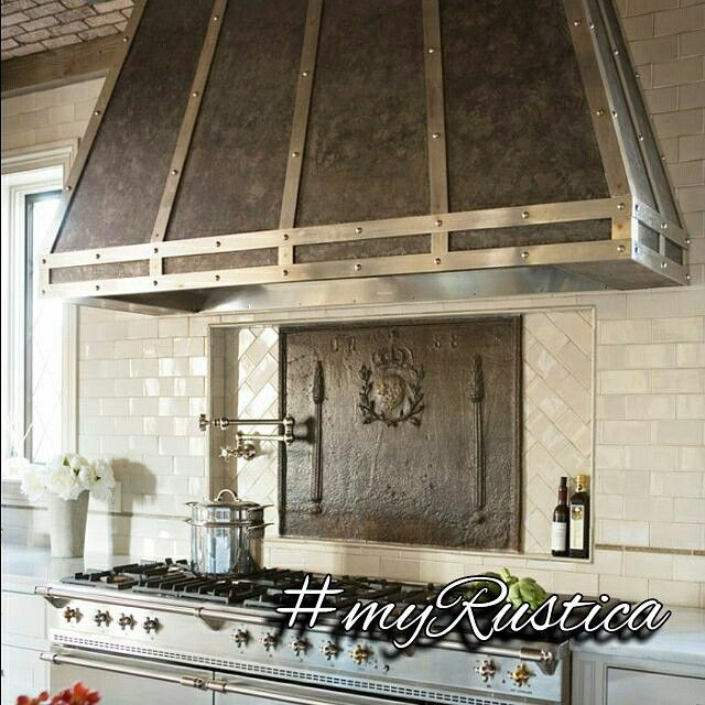 Decorative Range Hoods For Gas Stoves ~ Best images about zinc range hoods on pinterest wall