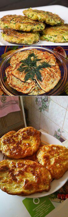 Как приготовить оладьи из кабачков в мультиварке - Овощи в мультиварке . 1001 ЕДА вкусные рецепты с фото!