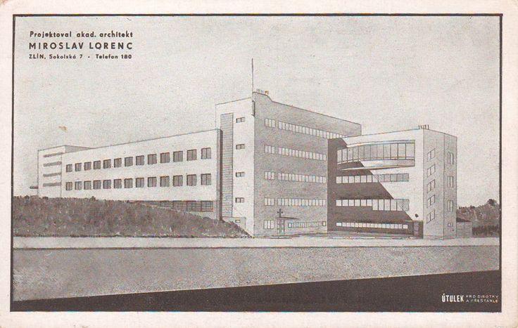 Miroslav Lorenc - Sociální Dům milosrdných sester (Social Building of the Charitable Sisters), Zlín