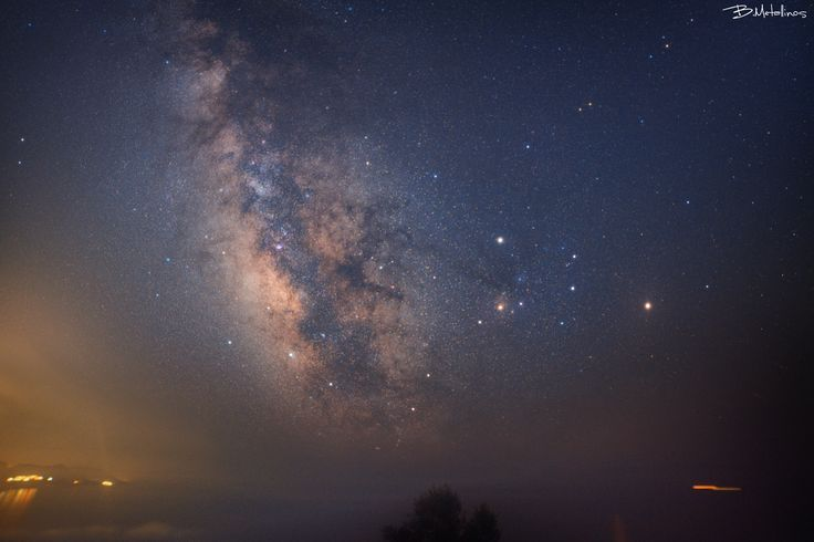 Milkyway from Vatos Hill, Corfu - Milkyway from Vatos Hill, Corfu  Our galaxy Milky Way, above the Ionian sea, from St. Giorgios hill in Vatos village, Corfu