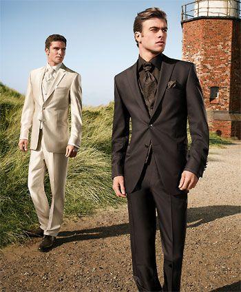 Svadobné pánske obleky
