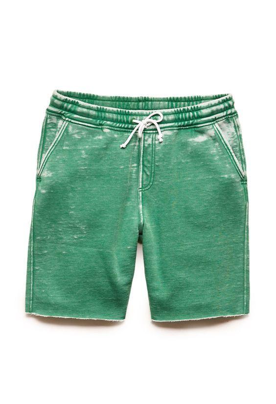 Burnout Fleece Shorts   21 MEN #21Men: