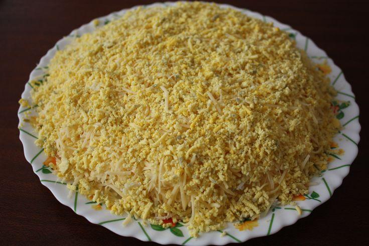 Рецепт салат курица с ананасом