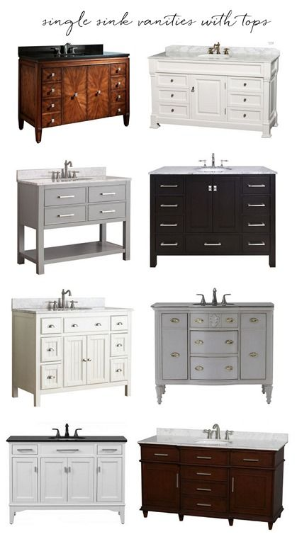 Bathroom Vanities with Tops. Best 25  Bathroom vanities with tops ideas on Pinterest   White