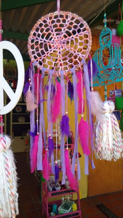 Mandalas Tejidas Al Crochet Artesanales - $ 160,00