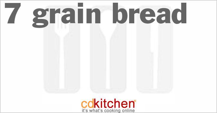 A 5-star recipe for 7-Grain Bread made with wheat flour, bread flour, seven grain mix, honey, salt, water, canola oil