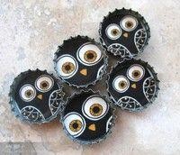 Bottle cap magnets!