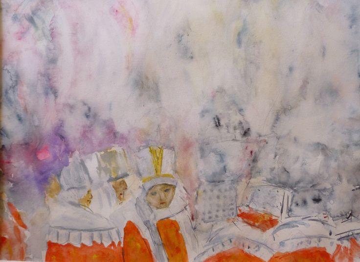 Gilles de Binche - Les plumets