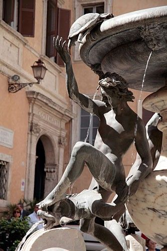 Fountain of the Tortoises, Rome