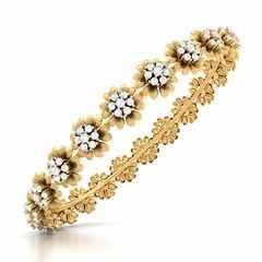 Tiara Diamond Bangle