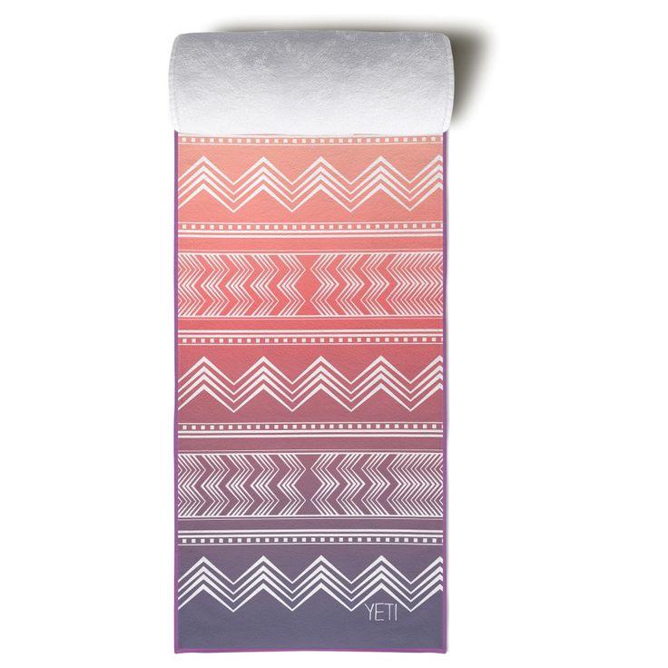 Yeti Yoga Towel The Cassady Yoga towel, Yeti logo, Yeti