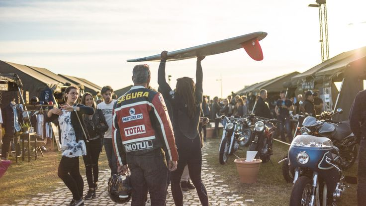 """'Make life a ride' – BMW Motorrad at Wheels & Waves 2016 """"Once just a popular meetup for bikers and surfers, now"""