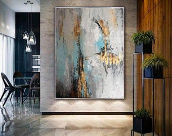 Extra Large Canvas Wall Art Large Abstract Painting Original Etsy In 2021 Abstract Canvas Art Extra Large Wall Art Abstract Painting