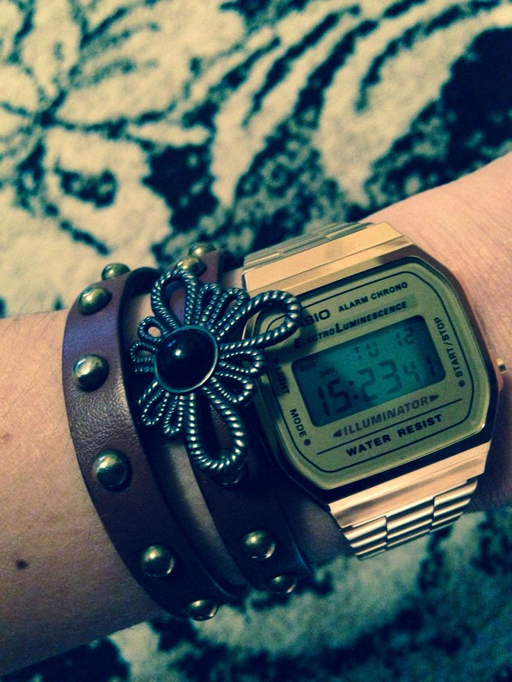 Casio gold wAtch - just arrived, just beautiful!