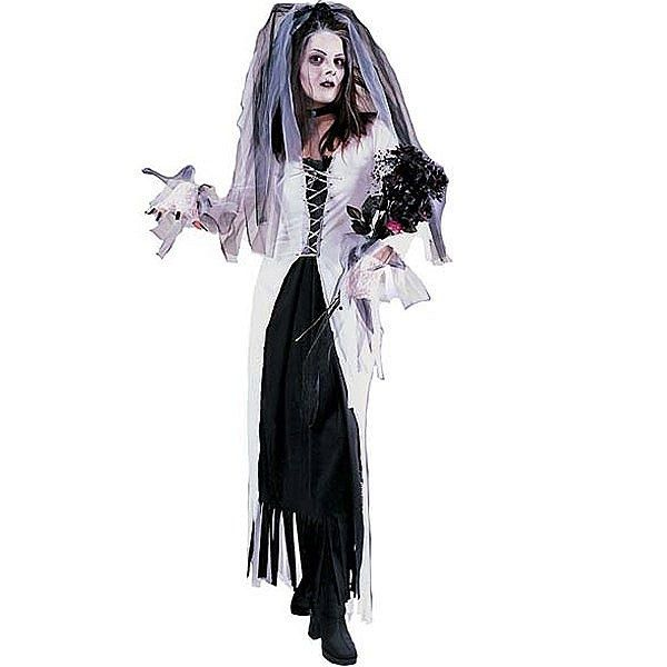 Vestido de novia zombie xmas