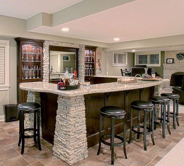 114 best stone kitchens and bars images on Pinterest | Decks, Homes ...