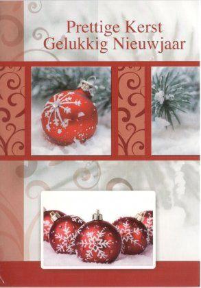 Prettige kerst en Gelukkig Nieuwjaar