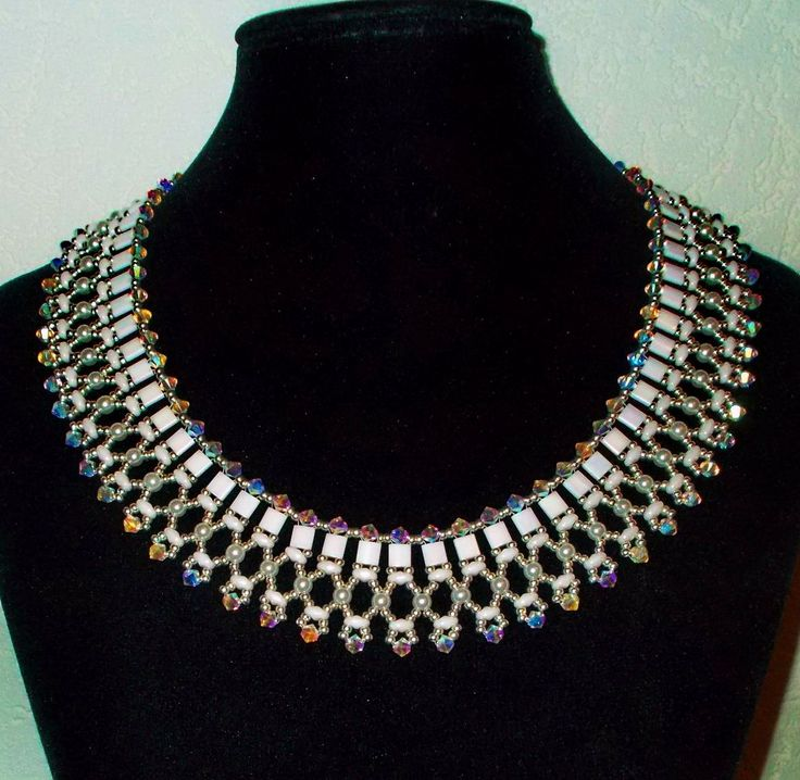 free-beading-pattern-necklace-tutorial-instructions-11.jpg (1105×1079)