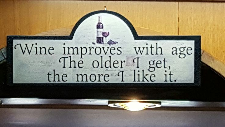 A sign in a hotel bar that made me to smile - would make a nice t-shirt as well.