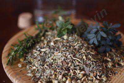 Cocina con Quenyin: Licor de hierbas digestivas