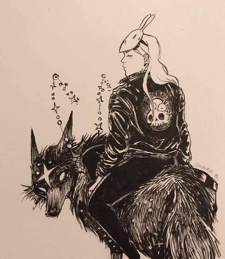 Картинки волк девушка кролик
