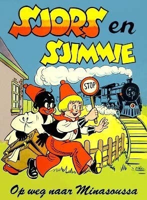 'Sjors en Sjimmie', die las ik graag! En dit is nog de 'ouderwetse' met een zwarte Sjimmie! Zoals in mijn jeugd en niemand die dààr moeilijk over deed!