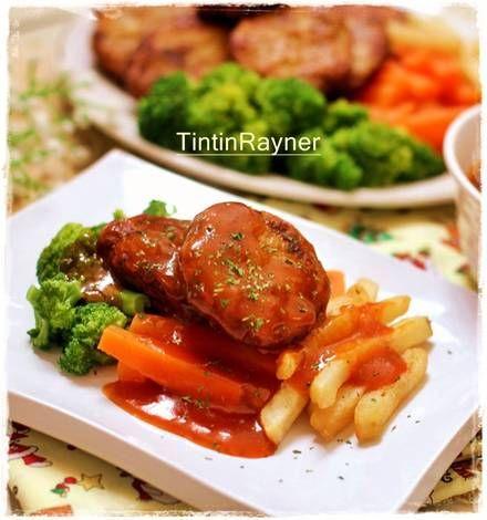 Bestik Daging Cincang lezatt,menu lezat rumahku