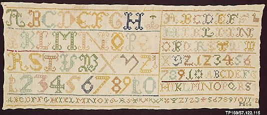 Sampler - 18th Century - Dutch