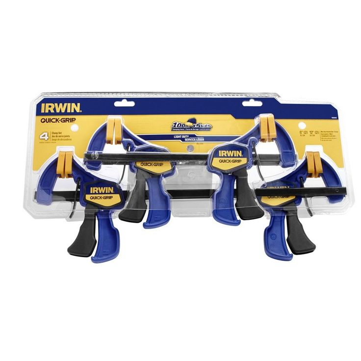 wood clamps lowes. irwin tools quick-grip 4 piece mini clamp set | lowe\u0027s canada $43 wood clamps lowes m