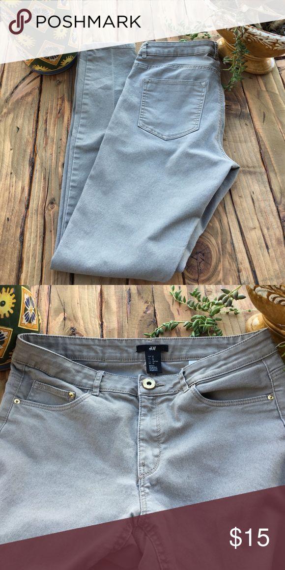 H&M tan skinny jeans Cute skinny jeans H&M Pants Skinny