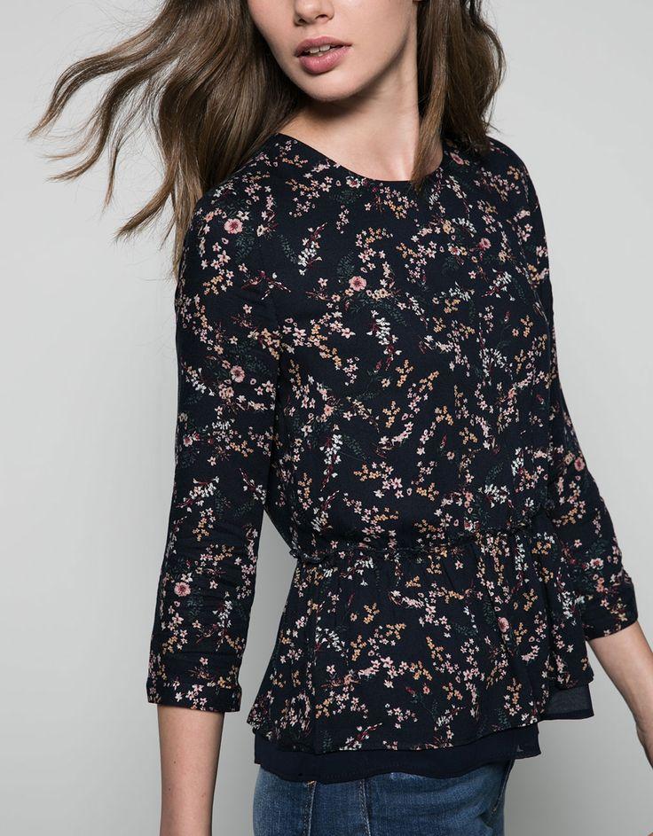 $379 Blusa Bershka estampada - Camisas & blusas - Bershka Mexico