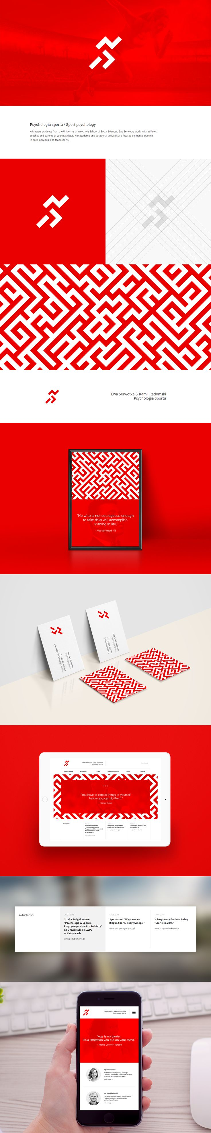 Psychologia Sportu on Behance