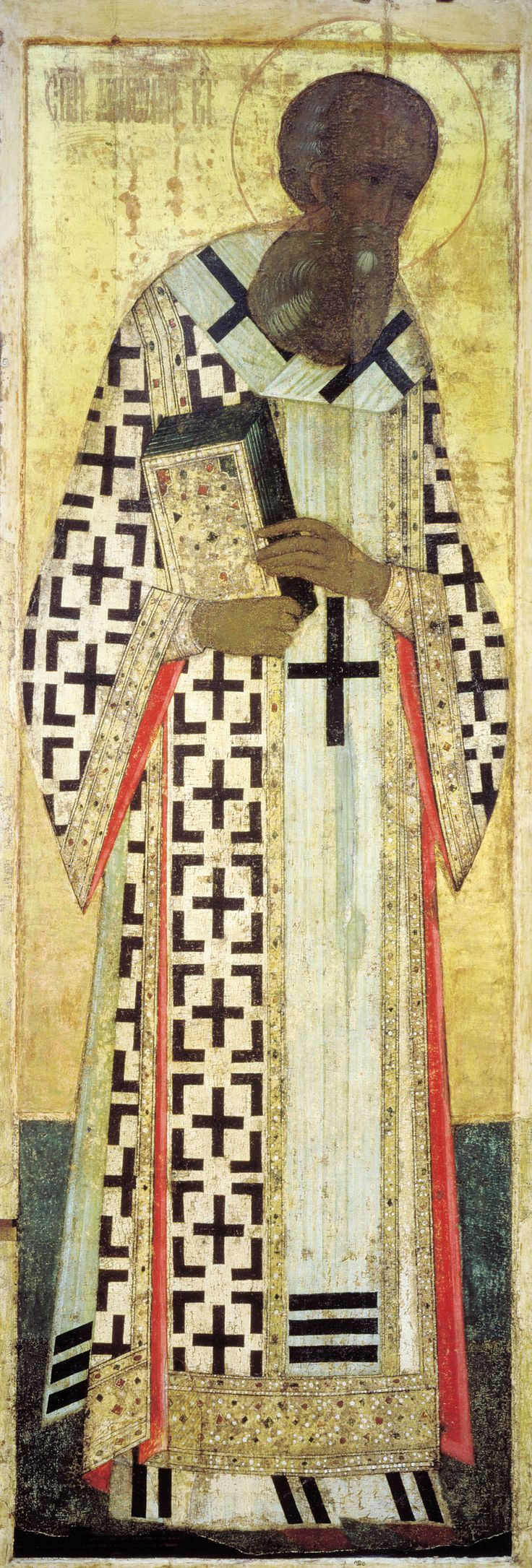 Andrei Rublev - St. Gregory the Theologian, 1408 (Dormition Cathedral, Vladimir)