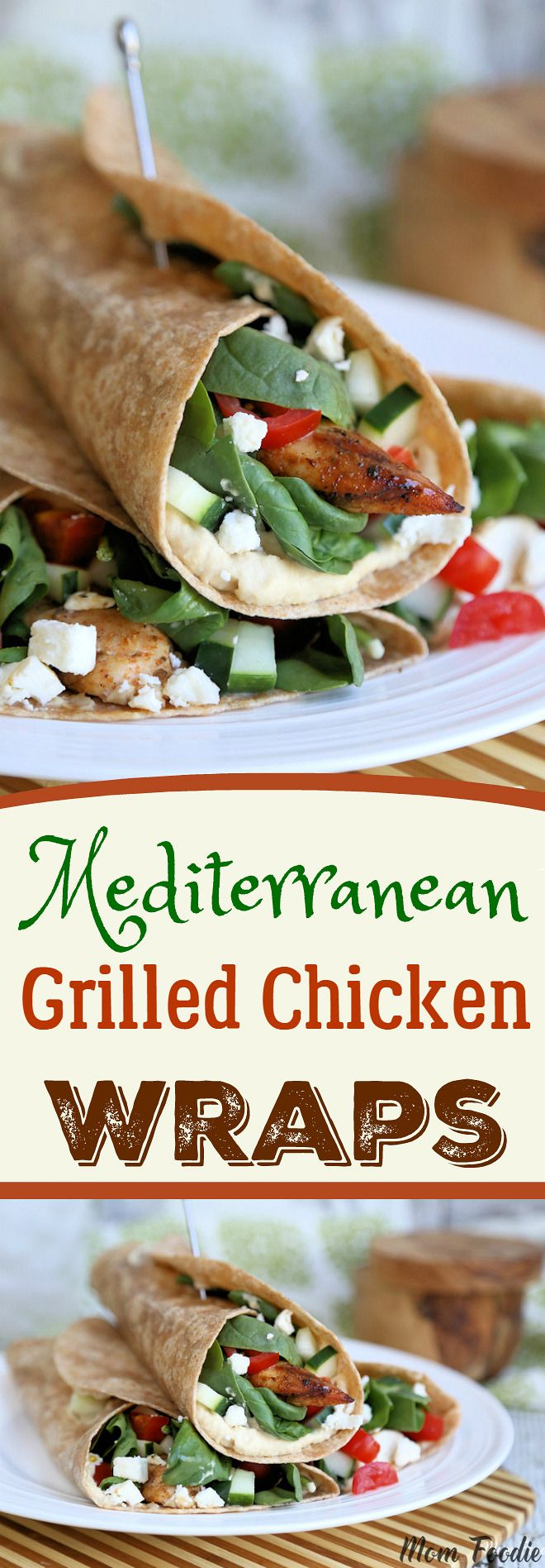 Mediterranean Grilled Chicken Wrap Recipe & Eating Better on a Budget @stopandshop #betterforyou #stopandshop #ad
