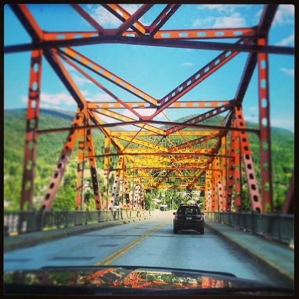 Nelson BC Big Orange Bridge (BOB)