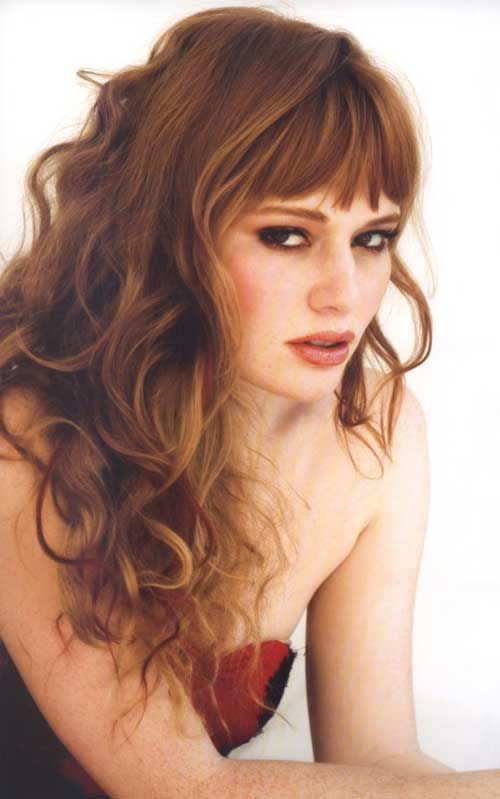 """Long hair - a symbol of femininity and beauty. However, such hair may look quite boring without the proper """"design"""". We offer you various options of cutting-edge stylish haircuts, which will refresh your image.You might"""