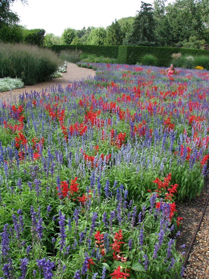 Cantigny Gardens in Winfield, Illinois, is where I find inspiration for my own garden.