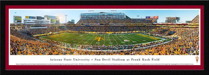Arizona State Sun Devils Panoramic Picture - Sun Devil Stadium Picture
