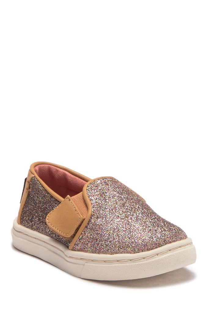 0486967551f TOMS - Ballet Luca Iridescent Slip On Sneaker (Baby   Toddler ...